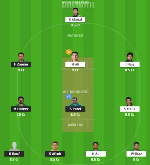 LQ vs PZ Today 14 November Dream11 Team