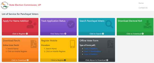 UP Gram Panchayat Voter List 2021 (New) PDF Download Here 2